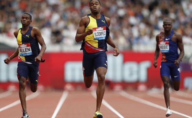 Najboljši v teku na 400 metrov v Londonu. FOTO: AFP