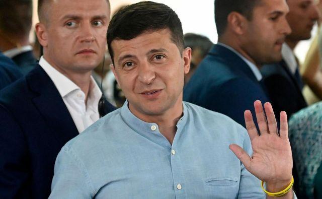 Volodymir Zelenski. FOTO: Genya Savilov/AFP