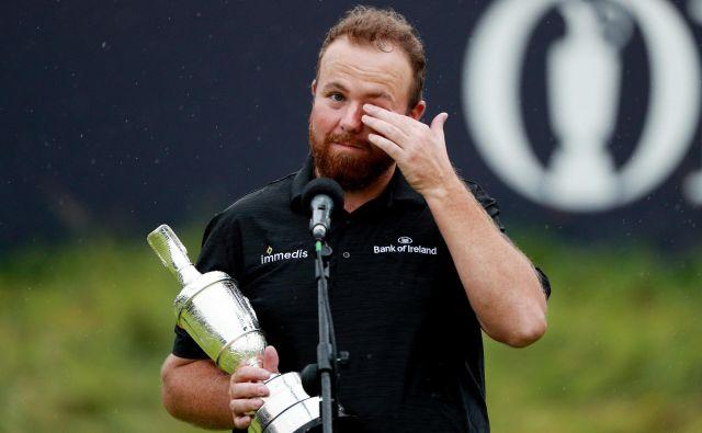 Lowry je zelo čustveno doživljal zmago na domačih tleh. FOTO: Reuters