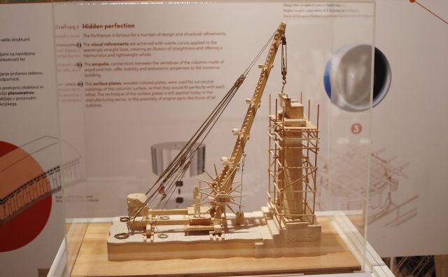 Gradbeni in inženirski dosežki so bili osupljivi. Foto Leon Vidic