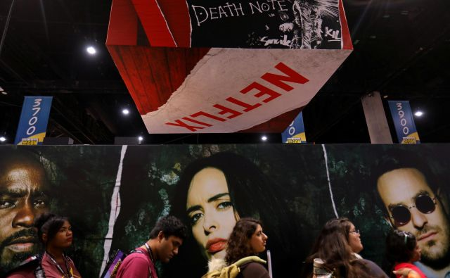 Uporabniki Netflixa le četrtino časa namenijo za gledanje njihove izvirne produkcije. Foto Reuters