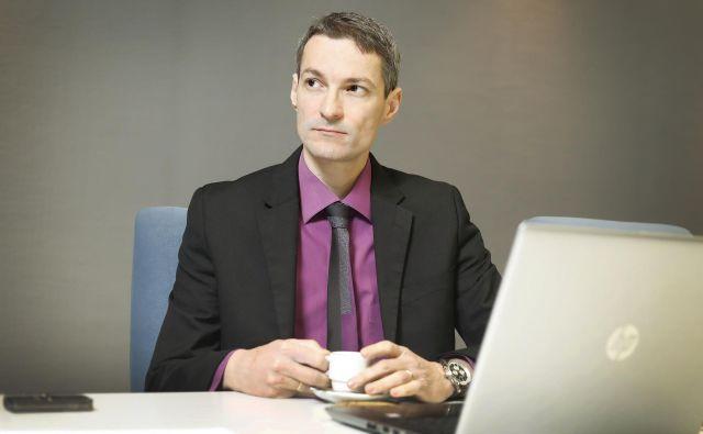 Bojan Ivanc, glavni ekonomist GZS: »Vlaganje v R&R se znižuje že od leta 2013.« Foto Leon Vidic