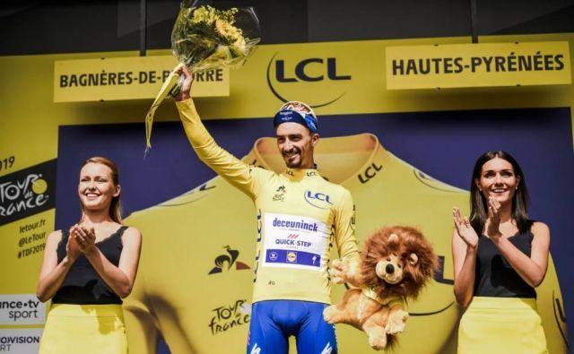 Julian Alaphilippe ne da rumene majice! Foto LeTour.fr