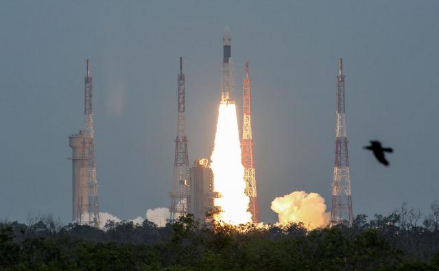 Indijska raketa z odpravo Čandrajan 2FOTO P. Ravikumar Reuters