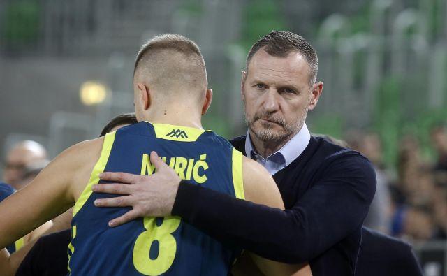 Slovenski selektor Rado Trifunović, Edo Murić in soigralci bi morali gladko na EP 2021. FOTO: Bla�ž Samec/Delo