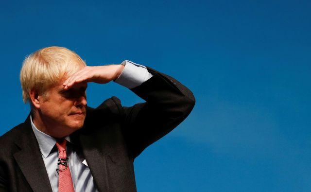 Naslednjega britanskega premiera je izbiralo 160.000 članov konservativne stranke. Ankete napovedujejo prepričljivo Johnsonovo zmago. FOTO: Peter Nicholls/Reuters