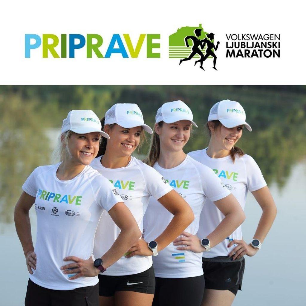 Priprave za letošnjiVolkswagen 24. Ljubljanski maraton