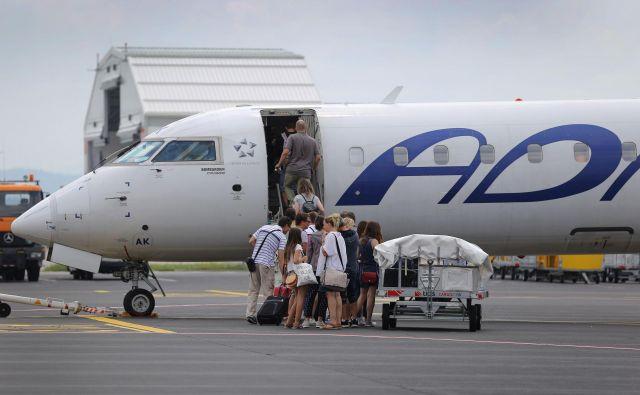 Tako Adria kot Mesa Airlines nista komentirali potencialnih transakcij. FOTO: Leon Vidic