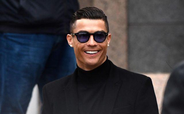 Cristiano Ronaldo je ves čas zanikal posilstvo Kathryn Mayorga, češ da je imel z njo sporazumen spolni odnos. FOTO: AFP