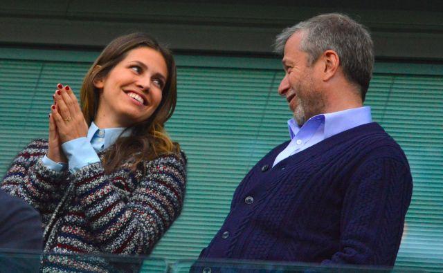 Roman Abramovič in Daša Žukova sta bila poročena deset let. FOTO: Toby Melville/Reuters