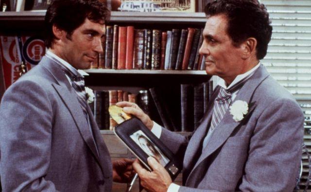 Timothy Dalton in David Hedison (desno) v filmu <em>Dovoljenje za ubijanje</em>. FOTO:IMDB