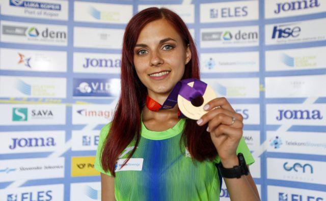 Tek na 5000 m ne bo prednostna disciplina Klare Lukan, ampak bosta to 1500 in 3000 m. FOTO: Peter Kastelic/AZS
