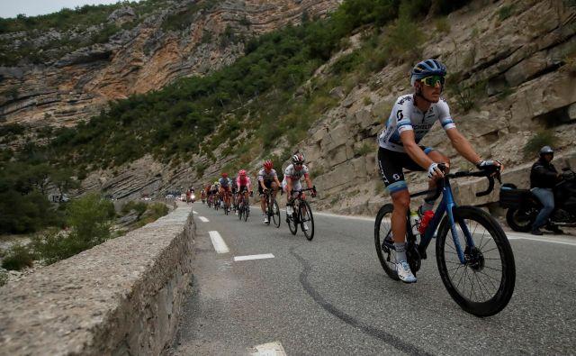 Evropski prvak Trentin se je tretjič v karieri veselil zmage na Touru. FOTO: Reuters