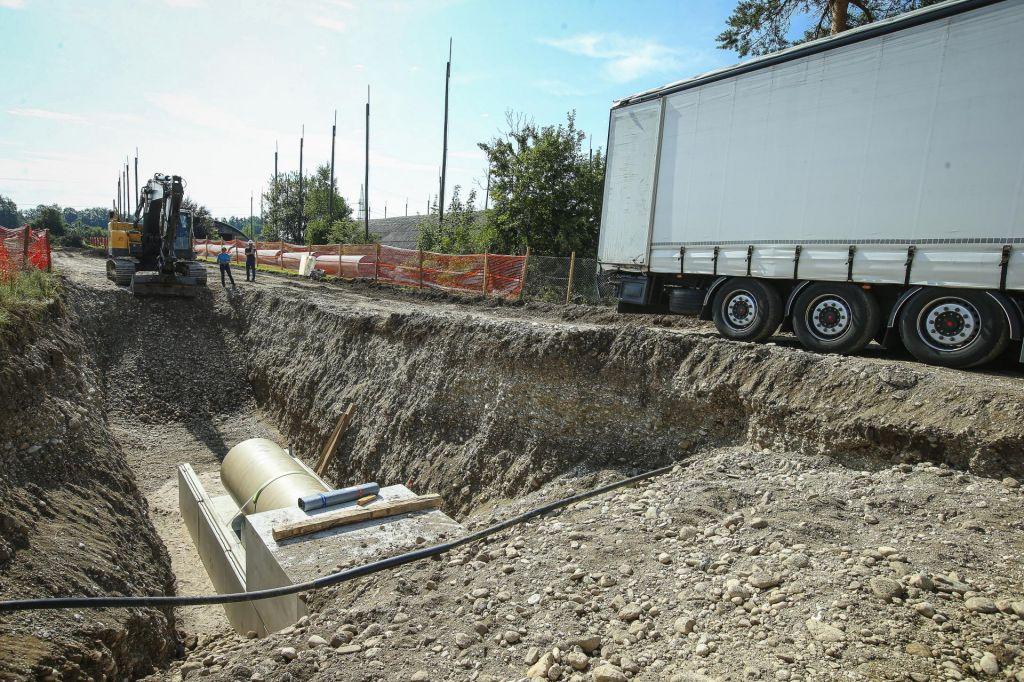 Nova ovira za kanalizacijo čez vodonosnik