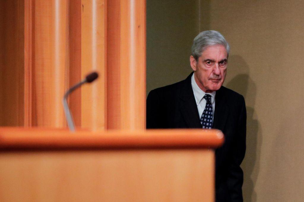 FOTO:Trumpov posebni preiskovalec Robert Mueller danes v predstavniškem domu