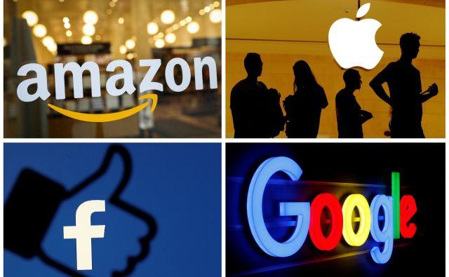 Velika tehnološka podjetja so se znašla v preiskavi ameriškega pravosodja. FOTO: Reuters