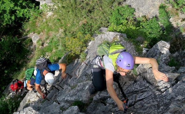 Tik pred izidom je vodnik Slovenska planinska potv angleščini.FOTO: Manca Ogrin