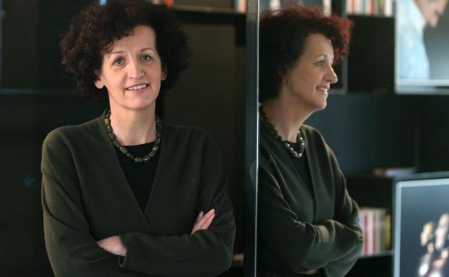 Maja Haderlap, avtorica odmevnega romana <em>Angel pozabe</em>, dvojezična pesnica in pisateljica in univerzitetna predavateljica. FOTO: Aleš� Černivec/Delo