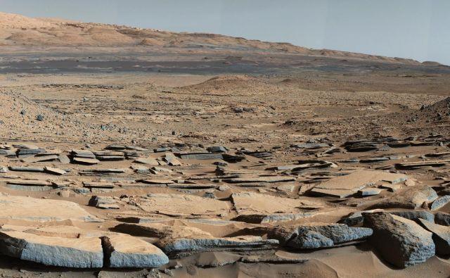 Morda bo naslednik Curiosityja na površino Marsa položil plast aerogela. Foto Nasa
