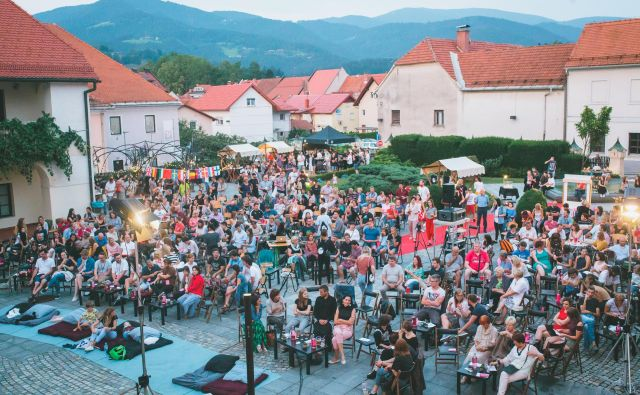 Osrednje prizorišče festivala SHOTS bo tudi letos atrij graščine Rotenturn. FOTO: Nika Hölcl Praper