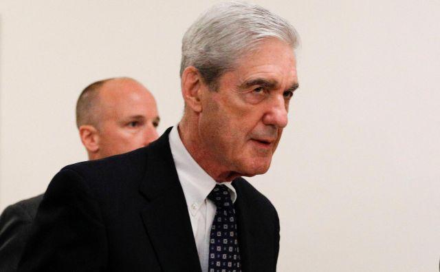 Robert Mueller med prihodom v predstavniški dom. FOTO: Reuters