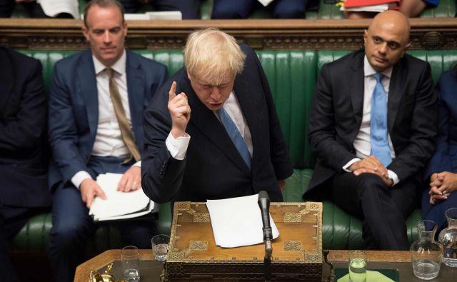 Ko je Alexander Boris de Pfeffel Johnson v torek postal novi premier Velike Britanije, so ZDA stopile na evropska tla. FOTO: Jessica Taylor/Afp