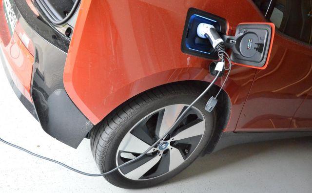 Prodaja električnih avtomobilov raste, a večinoma so tržni deleži majhni. So pa že tudi izjeme. FOTO: Gašper Boncelj