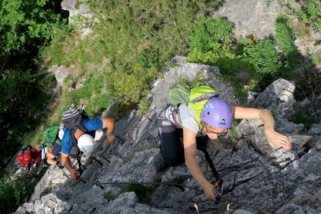 FOTO:Ferate nimajo statusa planinske poti in niso označene s planinsko markacijo