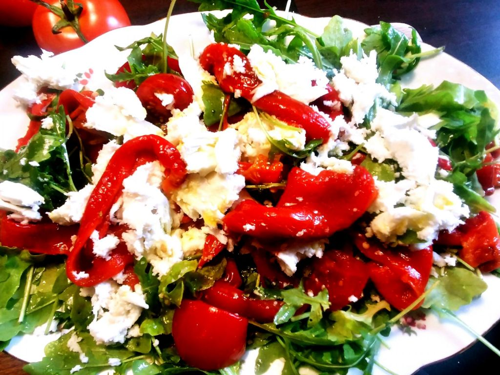 Poletov recept: tribarvna solata