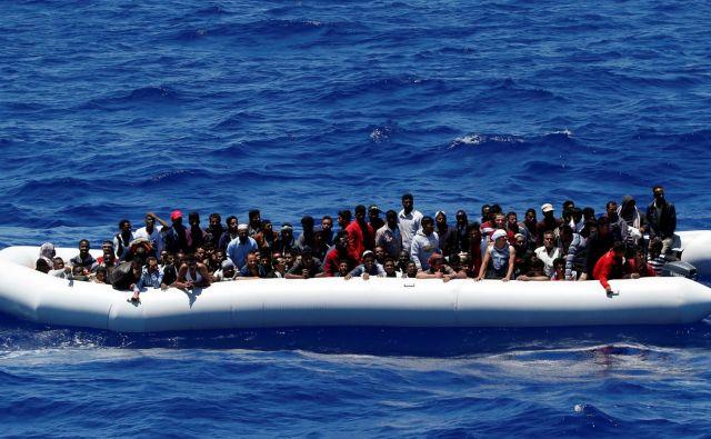 Libijska obalna straža zaenkrat poročil še ni potrdila (fotografija je simbolična). FOTO: Stefano Rellandini/Reuters