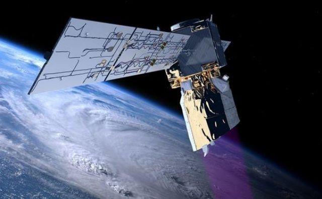 Satelit Aeolus omogoča boljše vremenske napovedi. FOTO: Esa