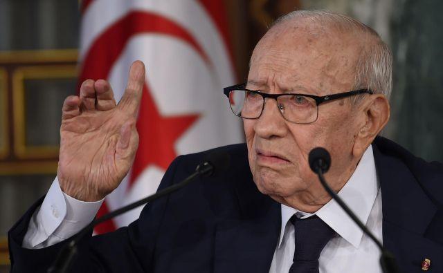 Beji Caid Essebsi je umrl. FOTO: Fethi Belaid/AFP