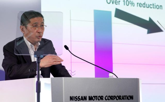Nissanov prvi mož Hiroto Saikawa napoveduje ostro prestrukturiranje podjetja.<br /> FOTO: Reuters