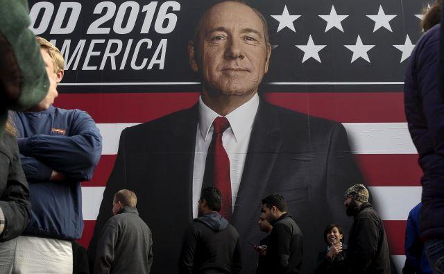 Leta 2018 je bil Francis Underwood že preteklost. FOTO:Carlo Allegri/Reuters<br />