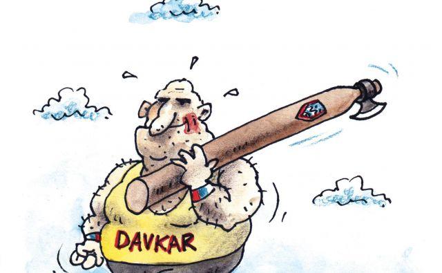 Karikatura Marko Kočevar