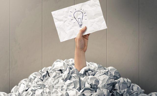 ideja, posel, žarnica Foto Shutterstock
