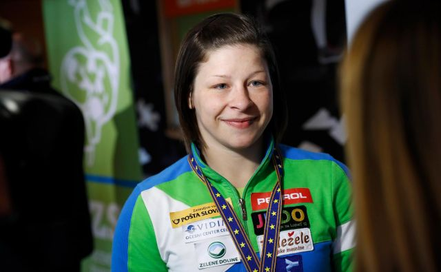 Tina Trstenjak si bo prvič po poškodbi kolena spet nadela tekmovalni kimono. FOTO: Uroš Hočevar