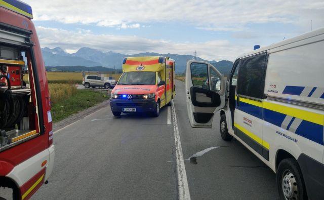 Včeraj je cesta terjala že 15. smrtno žrtev med motoristi letos (fotografija je simbolična).FOTO: PGD Mengeš