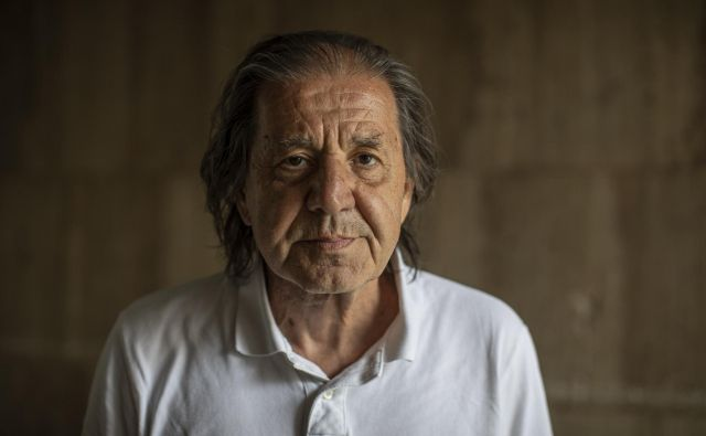 Emil Filipčič, pisatelj, pesnik, igralec in režiser.<br /> FOTO: Voranc Vogel