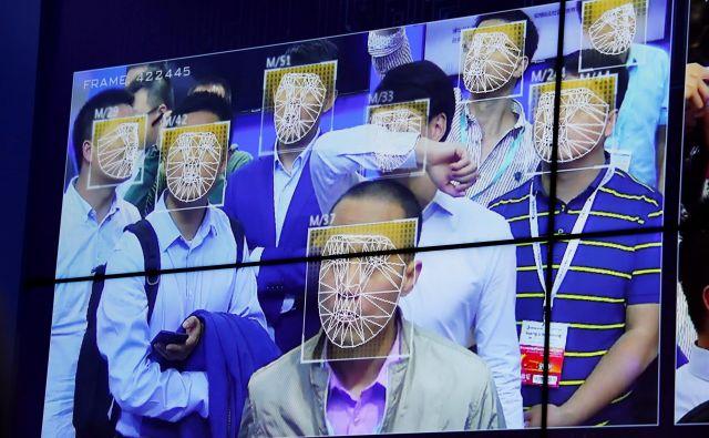 Države prepoznavo obraza uporabljajo na vse več področjih, še posebno vneto pa jo uvajajo na Kitajskem. FOTO: Reuters