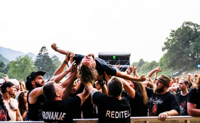 Do zmage in naprej Foto Marko Alpner Metaldays festival