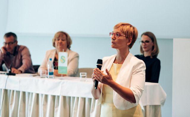 V Sindikatu zdravstva in socialnega varstva Slovenije, ki mu predseduje Irena Ilešič Čujovič, opozarjajo na pomanjkljivosti sistema Krpan. Foto: SZSVS