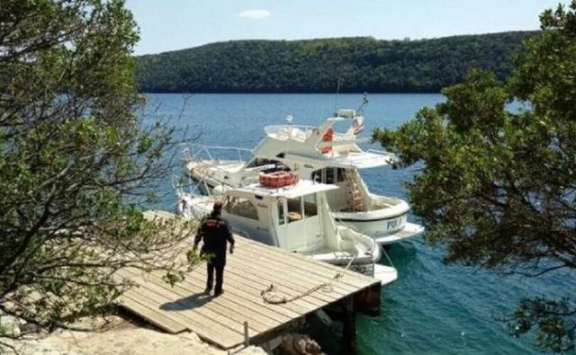 Nesreča se je zgodila v morju pri otoku Figarola.FOTO: Ministrstvo za pomorstvo
