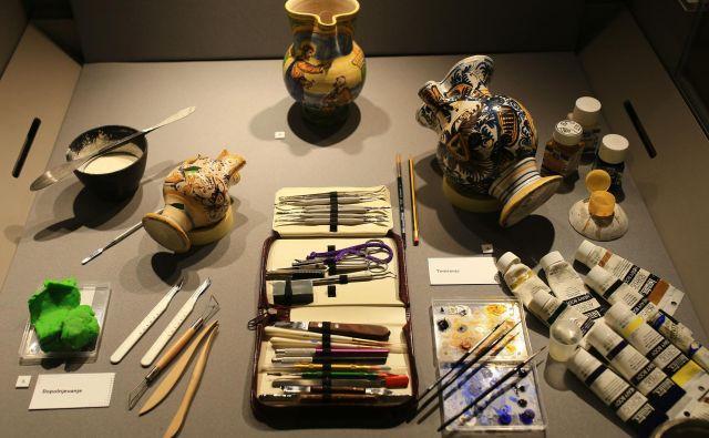 Laboratorij za konservacijo Narodnega muzeja je bil ustanovljen leta 1958. Fotografije Tomi Lombar