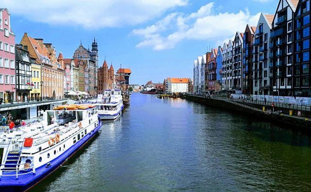 Gdansk – mesto, ki se ga je prijelo tudi ime poljski Amsterdam.