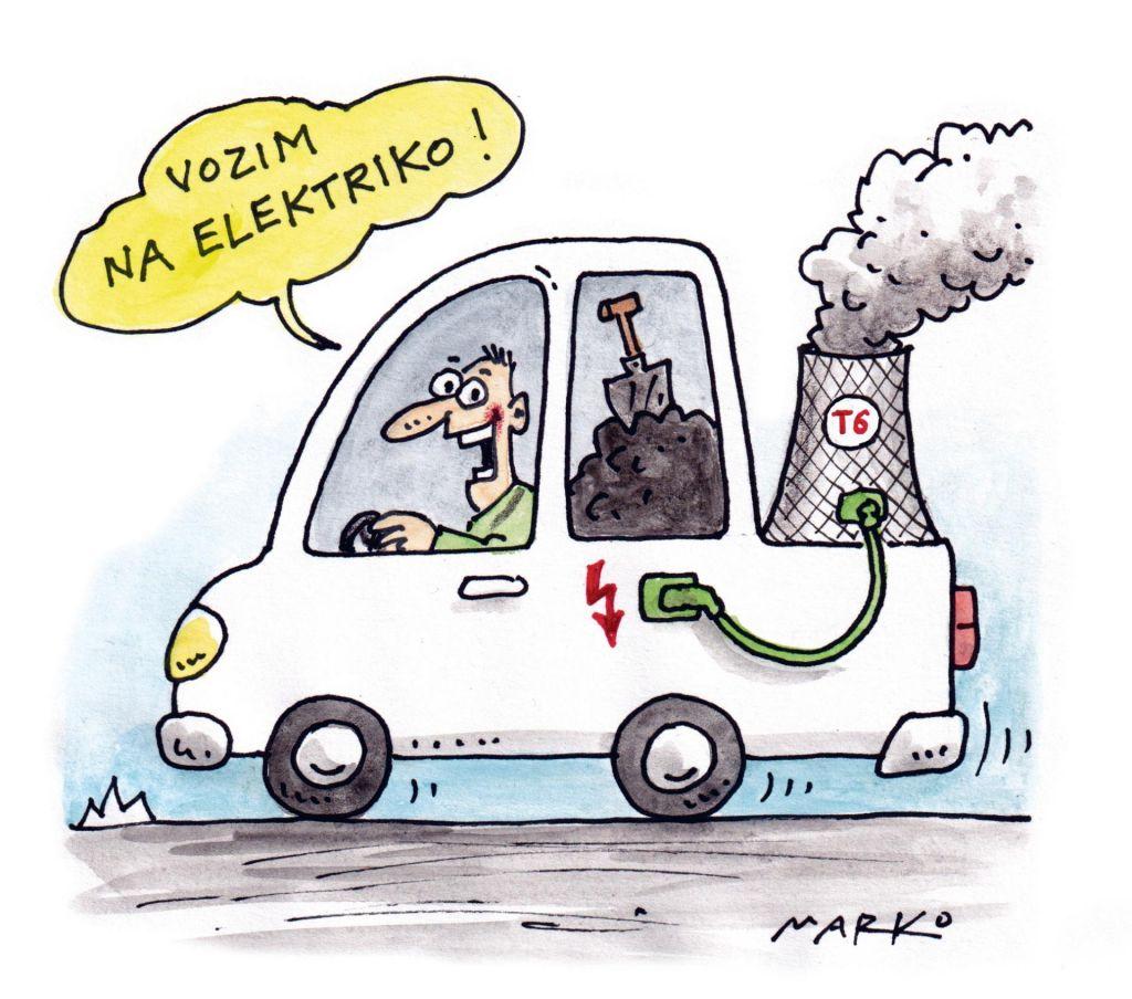 Vozim na elektriko