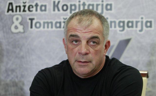 Matjaž Kopitar se je razveselil vrnitve na klop slovenske hokejske reprezentance. FOTO Leon Vidic/Delo