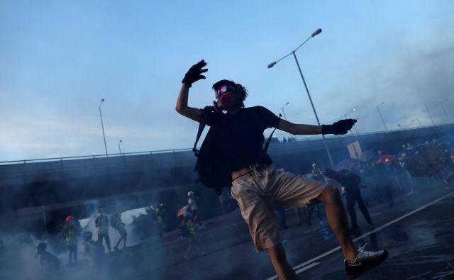 Peking pravi, da je dogajanje v Hongkongu »notranja zadeva Kitajske«. FOTO: Reuters