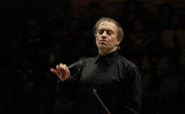 V Ljubljano se vrača ugledni dirigent Valerij Gergijev. Foto: Valentin M. Baranovsky