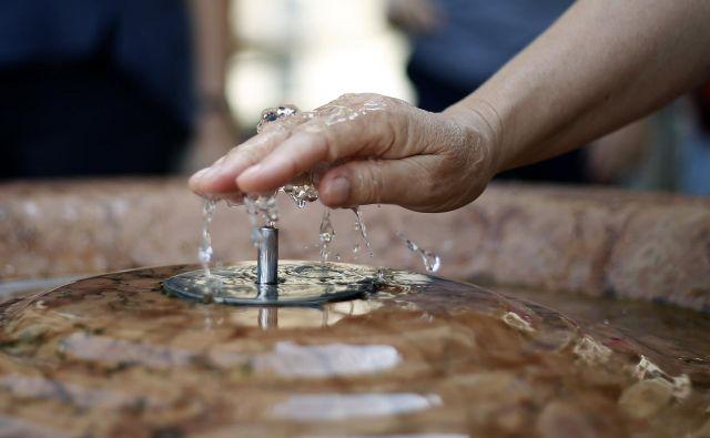 Vodooskrba v slovenski Istri in na Krasu je pomanjkljiva. FOTO: Blaž Samec